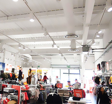 Track Lighting Store Project