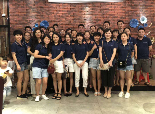 Wiscoon sales team 2019 Chinese traditional Dragon Boat Festival