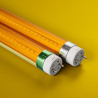 Yellow light LED tube