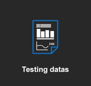 Testing datas